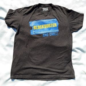 Blockbuster and Chill Tee.